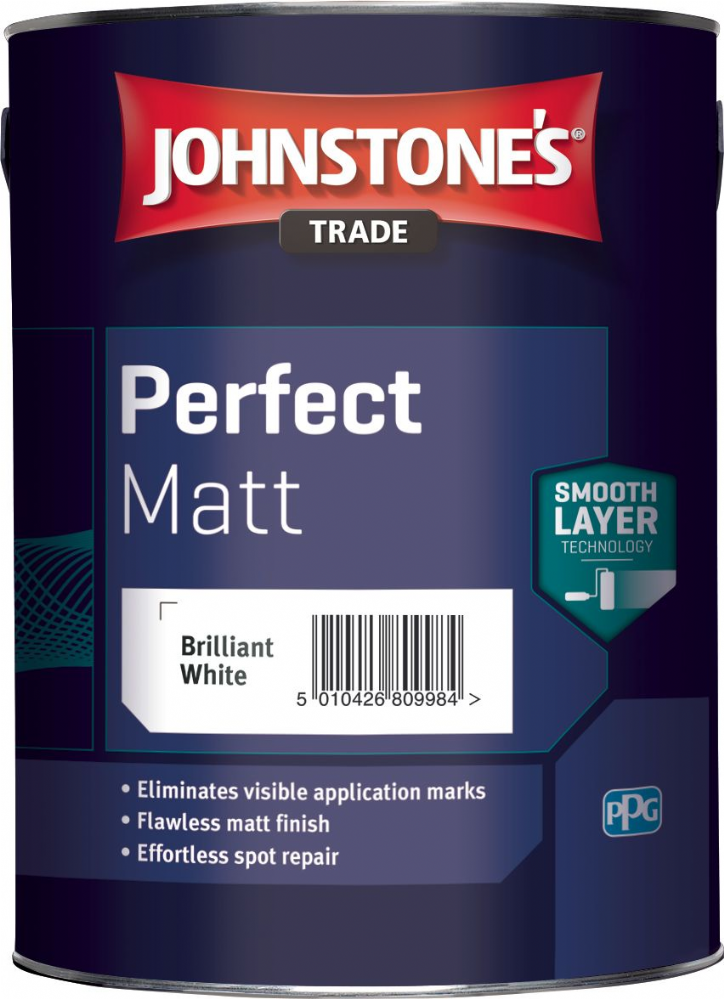 Johnstones Trade Perfect Matt Brilliant White